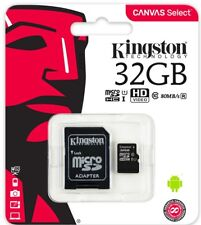 Kingston 32GB microSDHC Canvas Select 80MB/s 32G microSD UHS-I U1 C10 SDCS/32gb