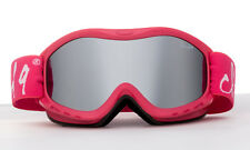 Rose Red Ski Goggles Snowboarding Winter Kids Youth UV 100% UV w/Pouch Dual Lens