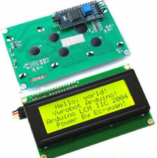 New Yellow IIC I2C TWI 2004 20x4 Serial LCD Module Display for Arduino