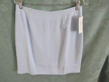 TOGETHER Light Blue Lined Career Skirt Size 12 NWT Back Zip
