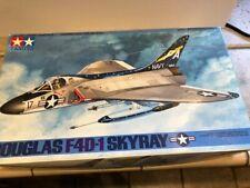 Tamiya 1/48 F4D1 Skyray Fighter Aircraft - Plastic Model Airplane Kit