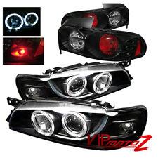 97-01 Impreza 2.5RS 2/4DR Coupe/Sedan Halo Projector Headlight+Tail Brake Lamp