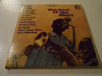 THE BEST OF THE BLUES  3 LPS SIMULATED STEREO  BOX VG/LPS VINYL VGTO M-