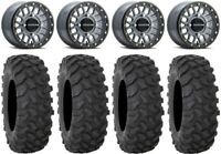 "Raceline Podium Bdlk 14"" (6+1) Gy Wheels 30"" XTR370 Tires Can-Am Maverick X3"