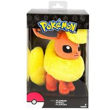 Pokemon Flareon Eevee 8 inch Collectable Plush Toy Tomy Official Gift Boxed