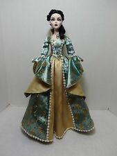 Beautiful Green & Gold Enchanted Dress fits Tonner Evangeline Ghastly Dolls