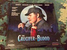 "SHERLOCK HOLMES ""Crucifer Of Blood"" LASERDISC 1992 Charlton Heston"