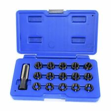 Spark Plug Tap Thread Repair Rethreading Set Kit M14 x 1.25 16pc