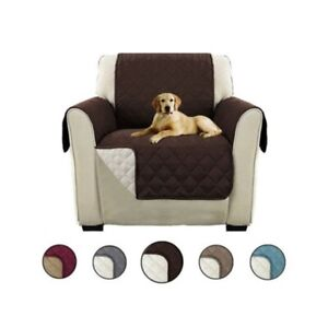 1/2/3 Seater Anti-Slip Sofa Covers Pet Kid Protector Recliner Chair Scratchproof
