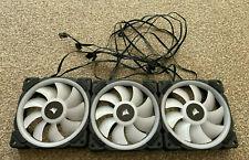 More details for corsair - ll120 rgb fans (x3), 120mm case fans (lot d)