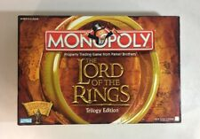 LORD OF THE RINGS TRILOGY EDITION MONOPOLYComplete