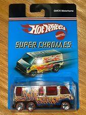 HOT WHEELS. S/CHROMES GMC MOTORHOME
