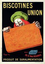 Original Vintage Poster - L. Cappiello - Biscotines Union - Biscuit - 1906