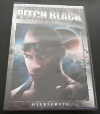 Pitch Black (Dvd, 2004, Widescreen Edition) Director's Cut Unrated