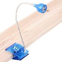 Sn _ Wo _ Flexible Bras Réglable LED Clip sur Lampe de Lecture Mini Bureau Tabl