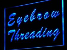 j117-b Eyebrow Threading Beauty Salon Neon Light Sign