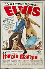 HARUM SCARUM ELVIS PRESLET VINTAGE MOVIE POSTER ONE SHEET 1965
