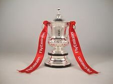 Emirates FA Cup 100mm Cup Trophy Pokal Manchester United Winner Sieger Champion