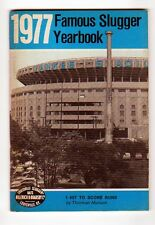 1977 FAMOUS SLUGGER YEARBOOK MUNSON REDS YANKEES CHAMPS
