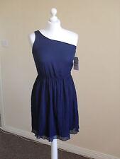 ZARA one shoulder dress  size M (10) blue short brand  new
