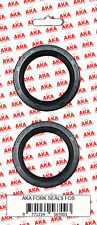 Fork Seals for: Honda CBR125R / CB125T / CM125 / XR125L - Brand New Pair