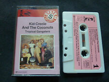 KID CREOLE AND THE COCONUTS TROPICAL GANGSTERS ULTRA RARE CASSETTE TAPE!