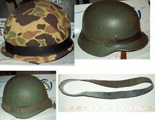 rubber strap / helmet camo / reenactor / army / marines/ vietnam/ WW2 / commando