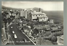 CARTOLINA DI GENOVA QUINTO VIA ANGELO GIANELLI SPEDITA NEL 1962