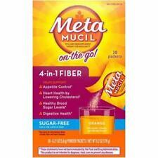 Metamucil Psyllium Sugar-Free Fiber Supplement Powder Packets, 30 Ct