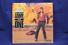 Army of One - Dolph Lundgren - Very Rare!  Laser Disc