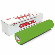 ORACAL 631 Adhesive Backed Matte Vinyl 12in x 10ft Roll - LIME TREE GREEN