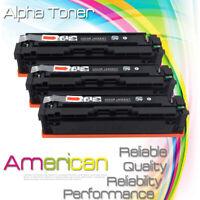 3 PK Black Toner for 045H Canon MF632cdw ImageClass MF634cdw LBP612cdw 1246C001