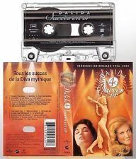 DALIDA cassette K7 tape 40 SUCCES EN OR 1956 - 2001