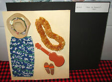MOC 1964 KEN DOLL TRAVEL SERIES FASHION~KEN IN HAWAII~1404~Nr.COMPLETE+MINT~6 PC