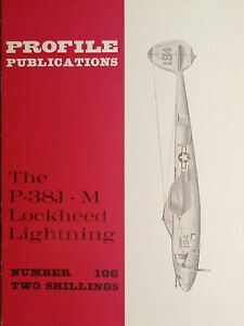 Aeronautica - Profile Publications N. 106 The P-38J-M Lockheed Lightning - 1966