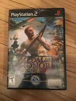 MEDAL OF HONOR RISING SUN - PS2 - COMPLETE WITH MANUAL - FREE S/H - (UU)