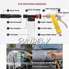 FAST Adjustable Snow Foam Lance Washer Soap Bottle Car Pressure Wash Gun 100ML
