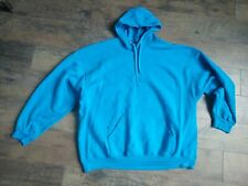 Fruit of the Loom Men's / Women's Plus Size 3XL Sweatshirt Hoodie Blue