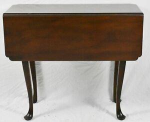 KITTINGER Colonial Williamsburg Mahogany Drop Leaf Table WA-1020