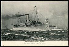 Germany Sea Transportation Postcard