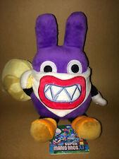Super Mario Plush Teddy - Nabbit Soft Toy - Size 20cm / 8 Inches - NEW