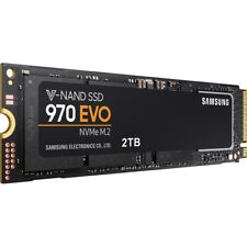 NEW Bulk Pack Samsung 970 EVO Series 2TB PCIe NVMe M.2 Internal SSD MZ-V7E2T0BW