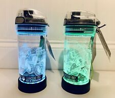 NEW Igloo Yew Lights Set Of 2 Light Up Water Bottles 14 oz, 8 Color Modes