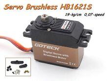 Servocomando GOTECK BRUSHLESS DIGITALE 19KG 0,07/sec.  40x20x37.2mm   HB1621S