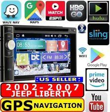 02-07 Jeep Liberty Gps Nav System W/ Wifi Bluetooth Usb Cd/Dvd Car Radio Stereo