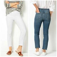 MARKS & SPENCER Per Una Womens Straight Leg Ankle Grazer Jeans   RRP £39