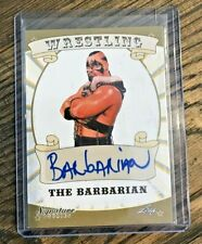 2016 Leaf Wrestling Signature Series Barbarian Auto Autograph Powers of Pain NWA