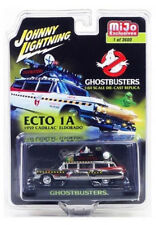 Ecto 1A '59 Cadillac Eldorado Ghostbusters CHROME 1:64 Johnny Lightning JLCP7026