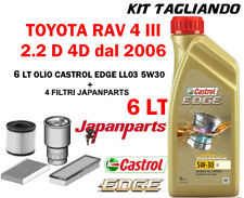 KIT TAGLIANDO TOYOTA RAV4 2.2D-4D JAPANPARTS