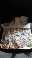 LOTTO francobolli MONDIALI come da foto migliaia